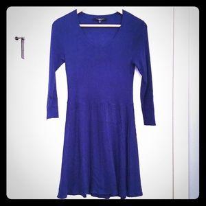 Thakoon blue sweater dress XS/S 3/4 sleeves